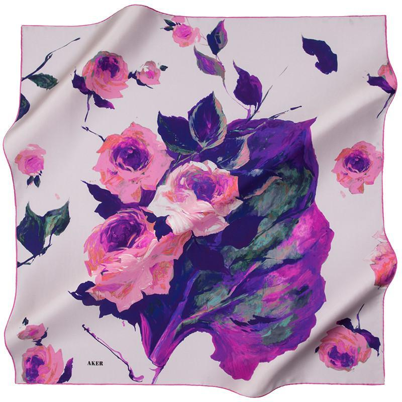 Aker Jayashri Silk Scarf - Beautiful Hijab Styles