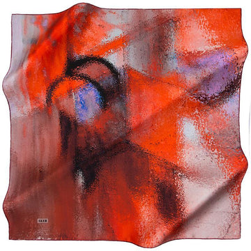 Aker Kacey Silk Scarf for Women Aker,Silk Scarves Aker