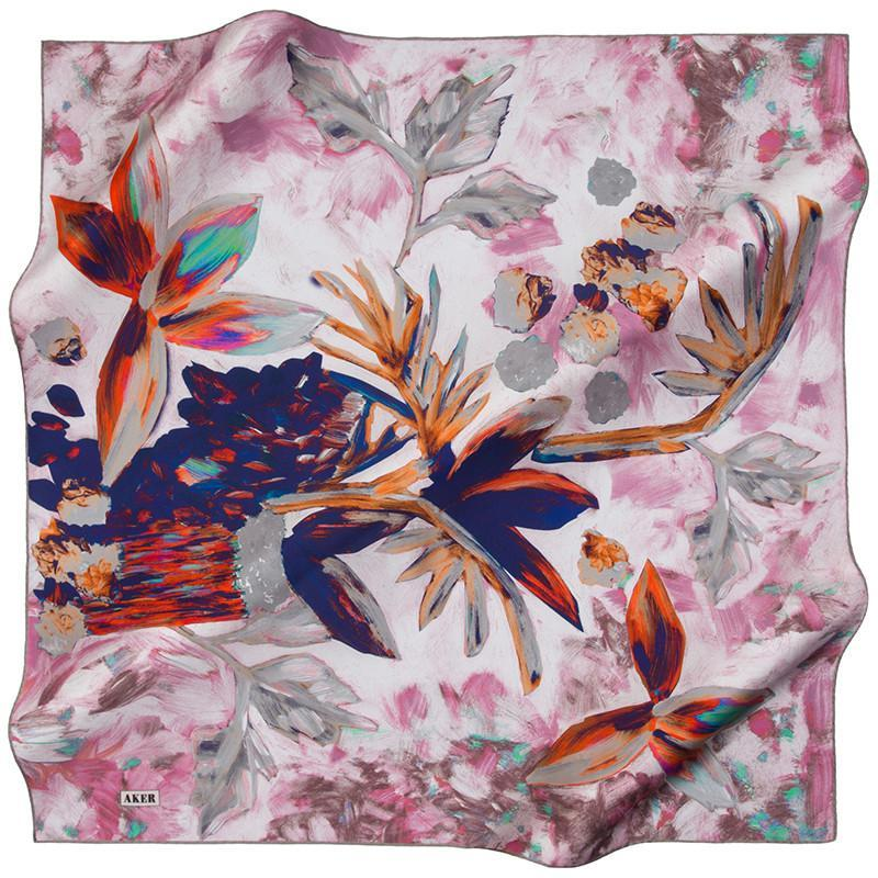 Aker Glamorous Scarf for Modern Women Aker,Silk Scarves Aker