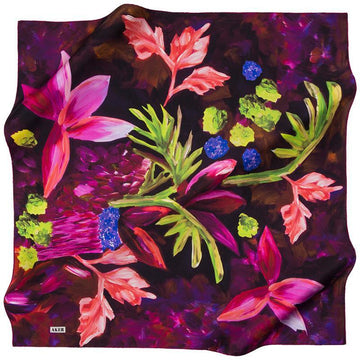 Aker Glamorous Scarf for Womem Aker,Silk Scarves Aker