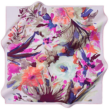 Aker March Silk Scarf Aker,Silk Scarves Aker