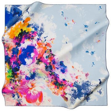 Aker Melbourne Silk Scarf for Women Aker,Silk Scarves Aker