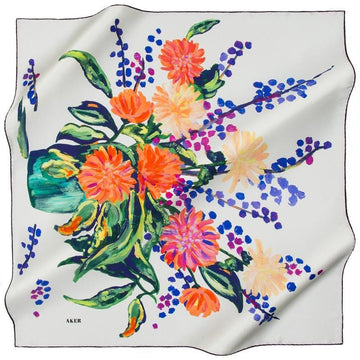 Aker Naaheed Silk Fashion Scarves: Classy Silk Scarves Aker,Silk Scarves Aker