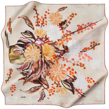 Aker Naaheed Silk Scarf for Women Aker,Silk Scarves Aker