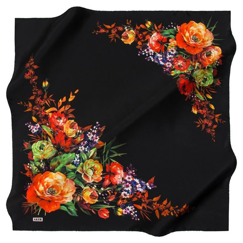 Aker Nalini Silk Scarves: Stunningly Beautiful Designer Silk Scarves - Beautiful Hijab Styles