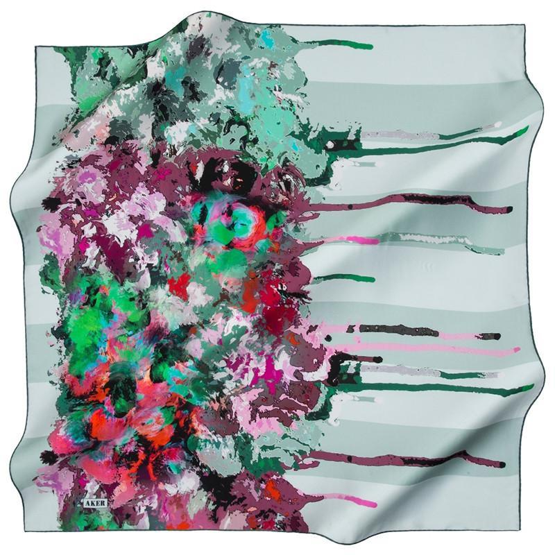 Aker Nature Meets Summer On These Fashion Scarves - Beautiful Hijab Styles