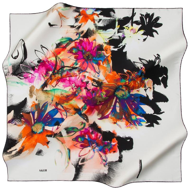 Aker Nisha Silk Scarves: Sophisticated and Eloquent Fashion Scarves - Beautiful Hijab Styles