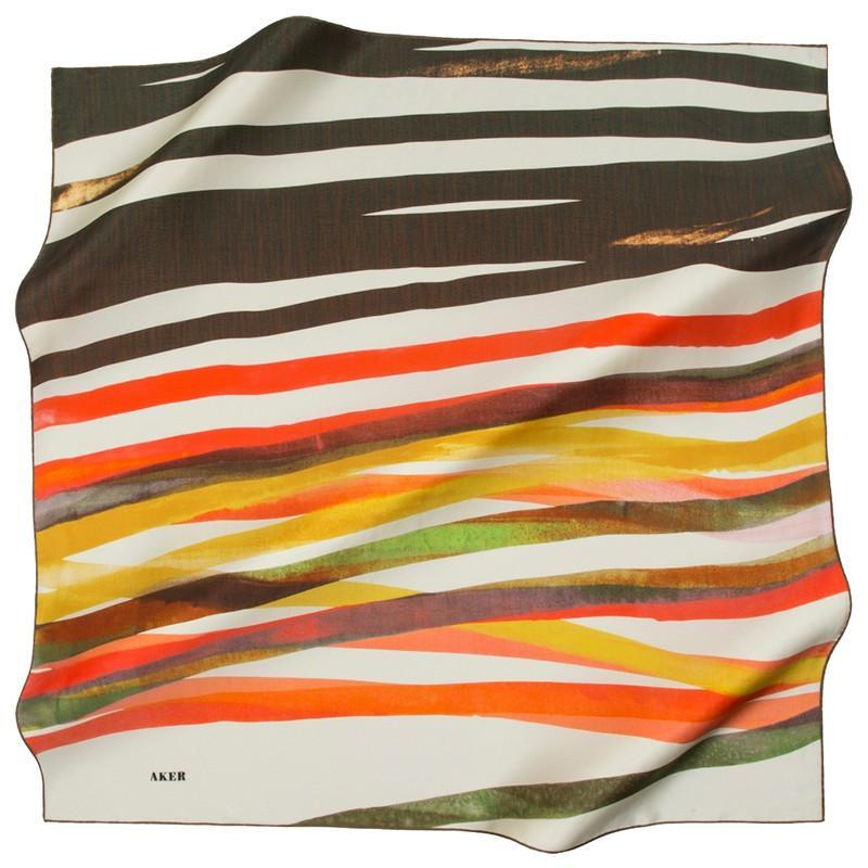 Aker One Look At This Bold Silk Scarf And You Will Never Look Back Aker,Silk Scarves Aker