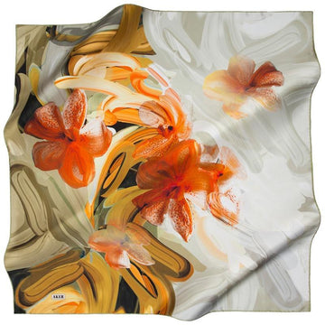Aker Patterns Abound On This Delightful Silk Scarf Aker,Silk Scarves Aker