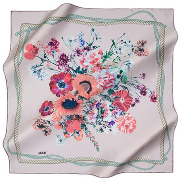 Aker September Silk Scarf Aker,Silk Scarves Aker