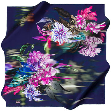 Aker : Oriental Art Turkish Silk Scarf Aker,Silk Scarves Aker