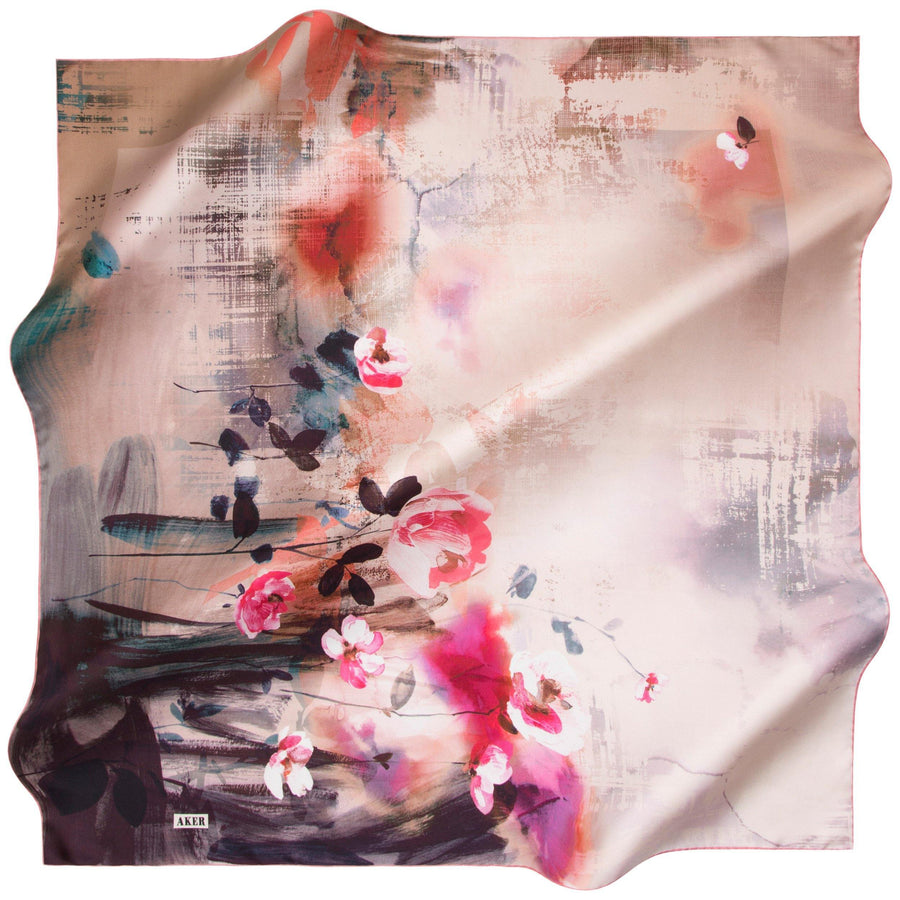 Aker : Best Tapestry with Beautiful Color Silk Scarf Aker,Silk Scarves Aker