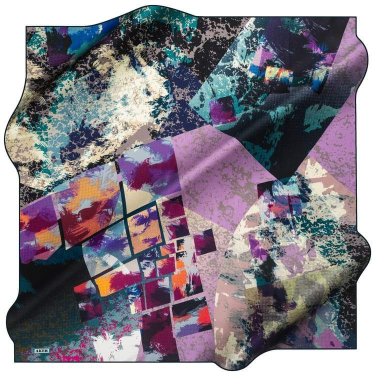 Aker : A Modern Odyssey Turkish Pure Silk Scarf