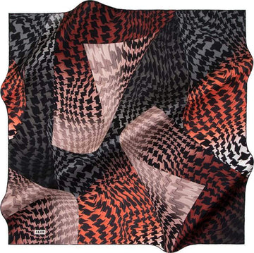 Aker : A Twist of Fate Modern Scarf from Turkey Aker,Silk Scarves Aker