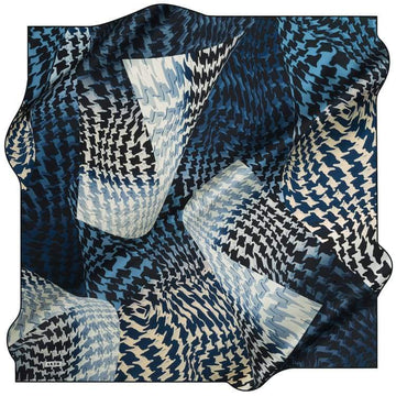 Aker : A Twist of Fate Modern Silk Hijab from Turkey Aker,Silk Scarves Aker