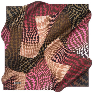 Aker : A Twist of Fate Modest Fashion Head Wrap Aker,Silk Scarves Aker