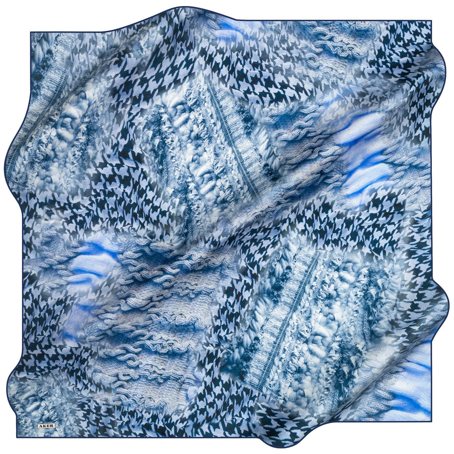 Aker : A Mother's Love Is True Blue Luxury Scarf
