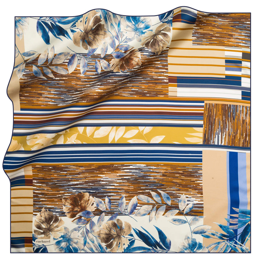 Cacharel Orient de Luna Silk Scarf No. 21 Silk Scarves Cacharel