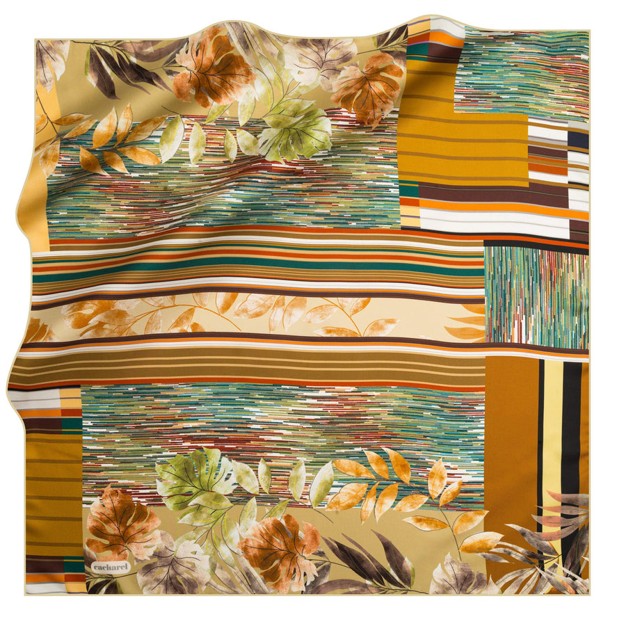 Cacharel Orient de Luna Foulard No. 52 Silk Scarves Cacharel