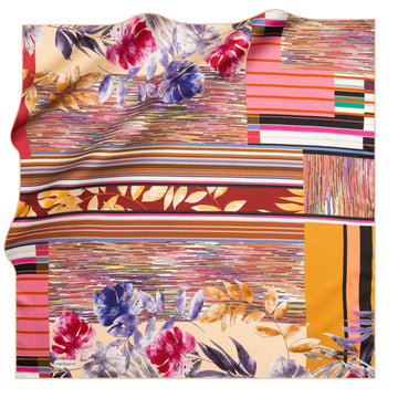 Cacharel Orient de Luna Foulard No 91 Silk Scarves Cacharel
