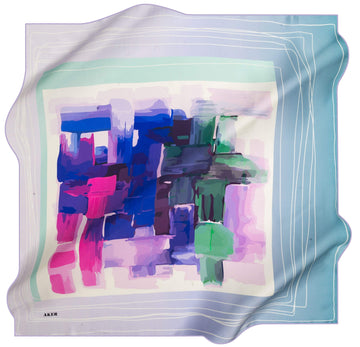 Aker Fashion Silk Scarf Candy No. 92 Silk Hijabs,Aker,Silk Scarves Aker