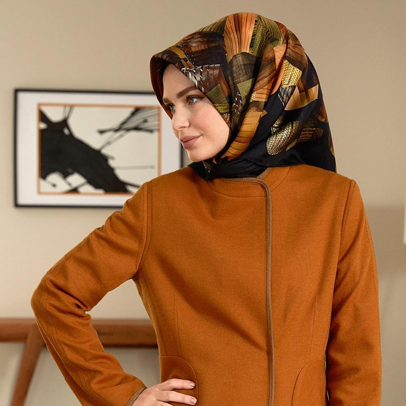 Armine Autumn Turkish Fashion Scarf Silk Hijabs,Armine Armine