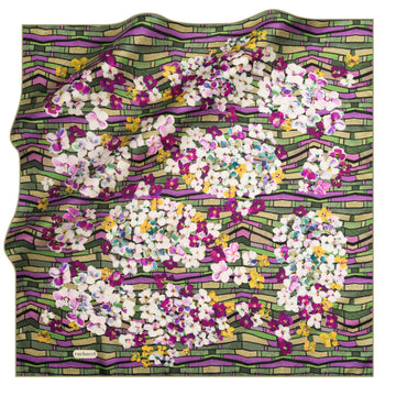 Cacharel Veronika Silk Twill Scarf No. 51 Silk Scarves Cacharel