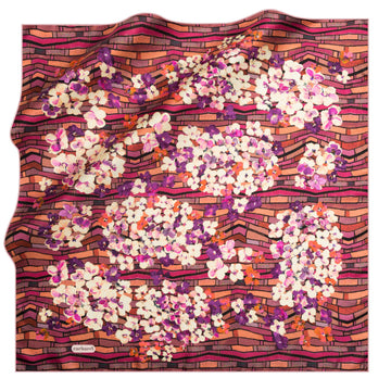 Cacharel Veronika Silk Twill Scarf No. 91 Silk Scarves Cacharel