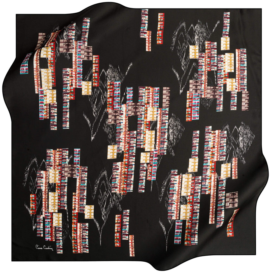 Pierre Cardin Rasha Luxury Silk Scarf No. 11 Pierre Cardin,Silk Scarves Pierre Cardin