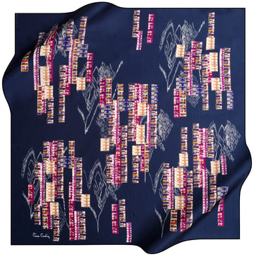 Pierre Cardin Rasha Luxury Silk Scarf No. 21 Pierre Cardin,Silk Scarves Pierre Cardin