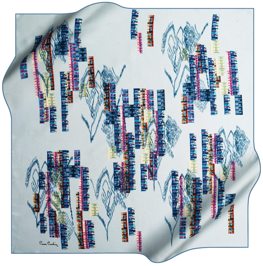 Pierre Cardin Rasha Luxury Silk Scarf No. 22 Pierre Cardin,Silk Scarves Pierre Cardin