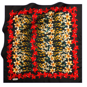 Cacharel Jardin Silk Scarf No. 11 Silk Scarves Cacharel