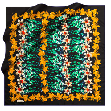Cacharel Jardin Silk Scarf No. 12 Silk Scarves Cacharel