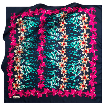 Cacharel Jardin Silk Scarf No. 21 Silk Scarves Cacharel