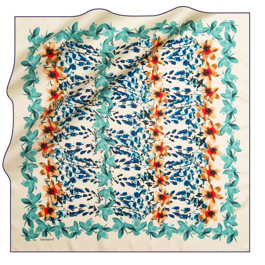 Cacharel Poeticus Silk Scarf No. 24 Silk Scarves Cacharel