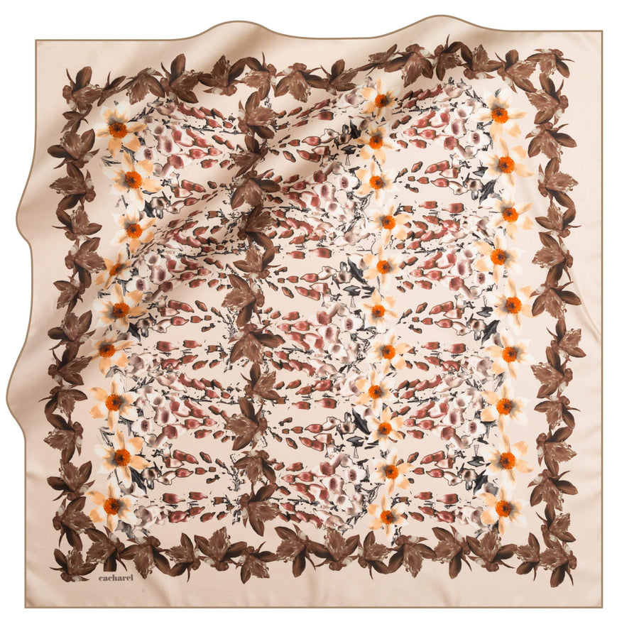 Cacharel Poeticus Silk Scarf No. 32 Silk Scarves Cacharel