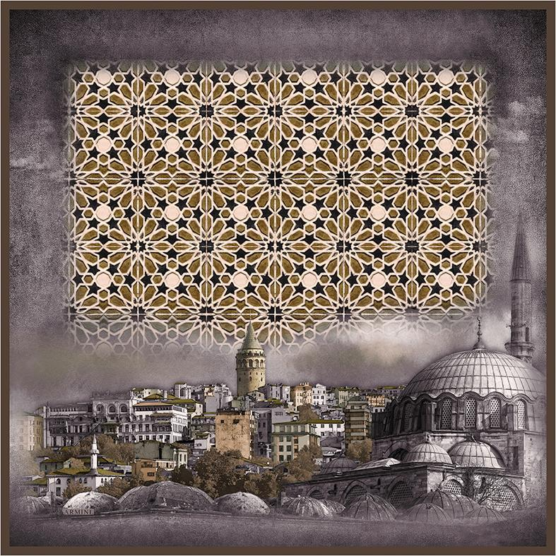 Armine Alisa Captivating Turkey Silk Scarf