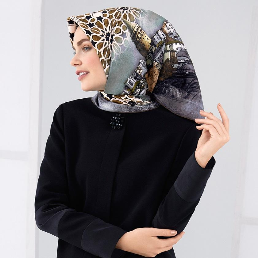 Armine : Serafina Captivating Turkey Silk Scarf Silk Hijabs,Armine Armine