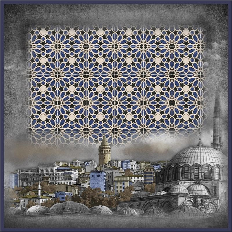 Armine : Serafina Captivating Turkey Silk Scarf Silk Hijabs,Armine Armine V-4