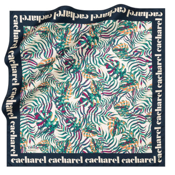 Cacharel Sutera Square Hijab Scarf No. 21 Silk Scarves Cacharel