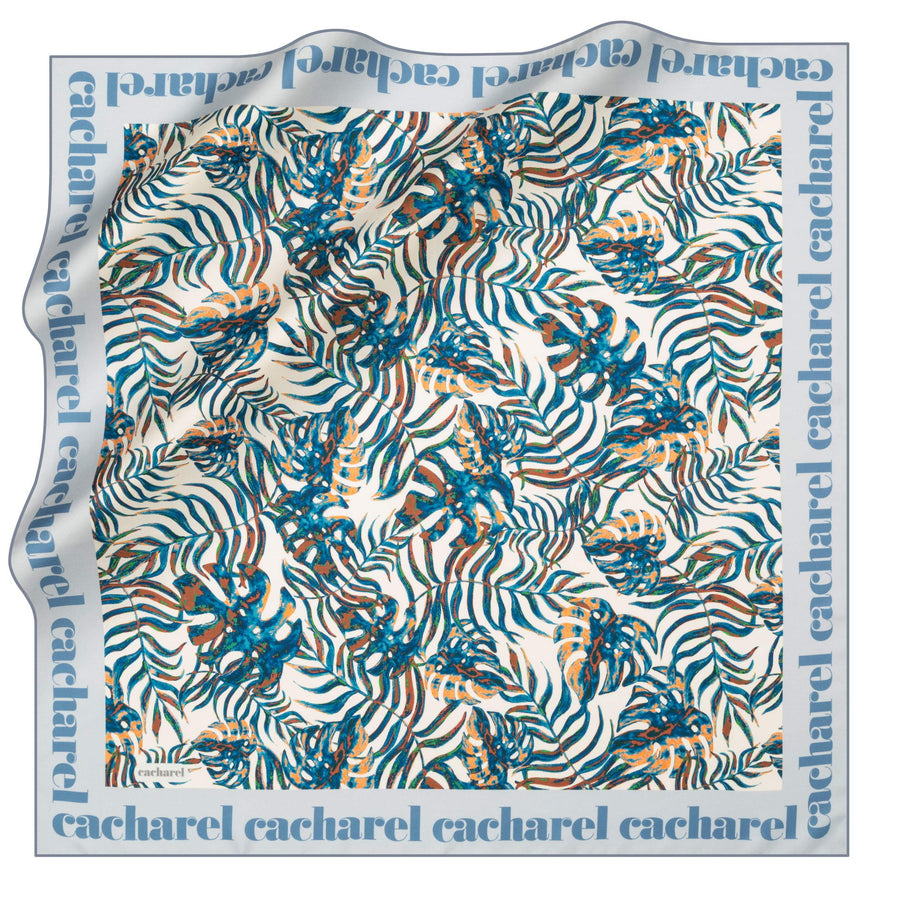 Cacharel Sutera Square Hijab Scarf No. 22 Silk Scarves Cacharel