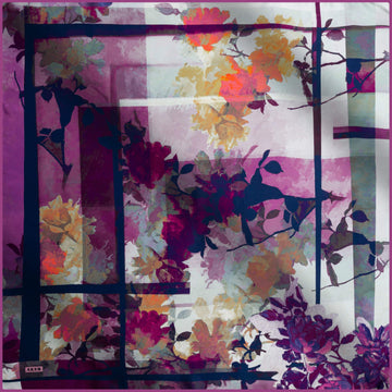 Aker Lara Turkish Silk Scarf No. 91 Silk Hijabs,Aker,Silk Scarves Aker