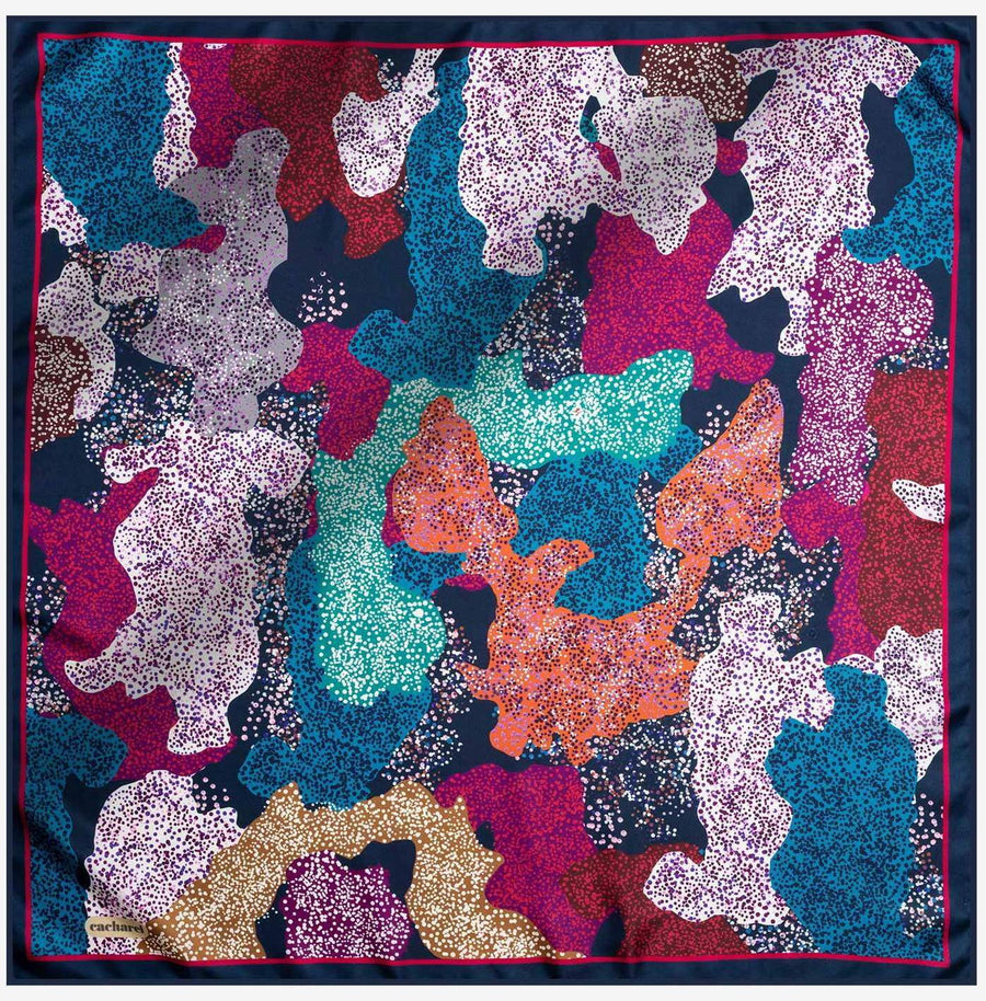 Cacharel Noa Pure Silk Scarf No. 21 Silk Scarves Cacharel