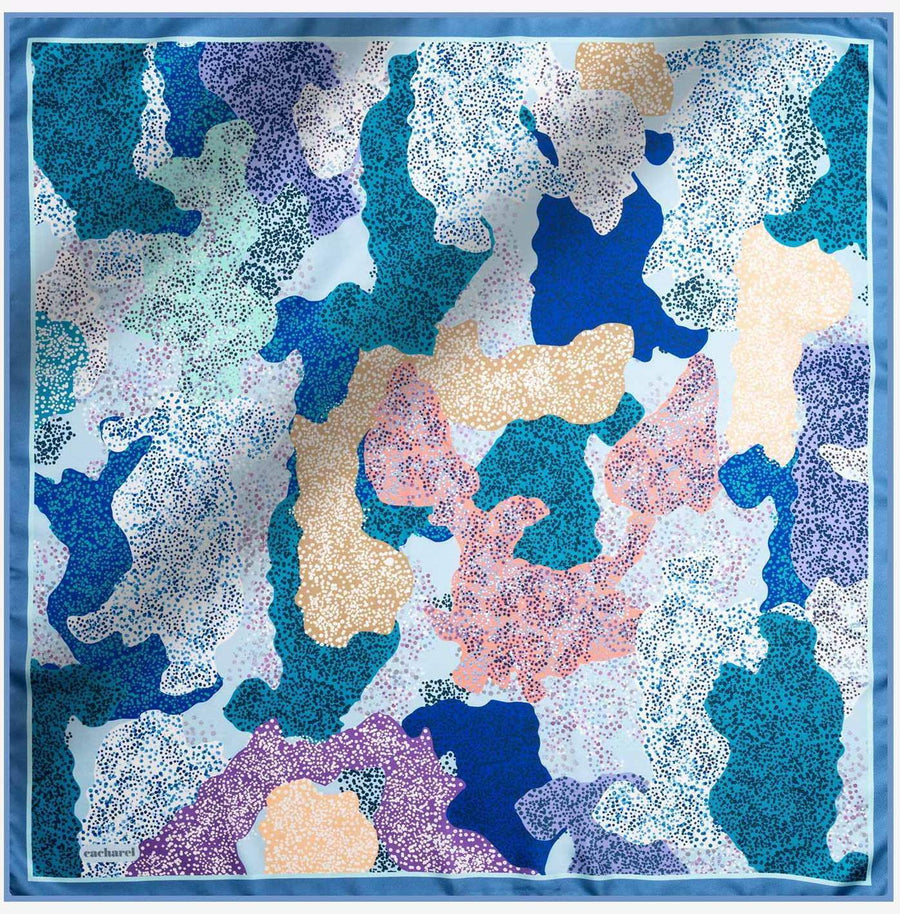 Cacharel Noa Pure Silk Scarf No. 22 Silk Scarves Cacharel
