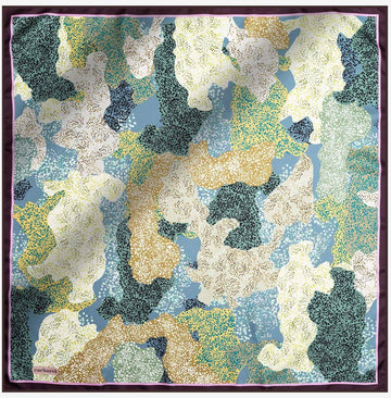 Cacharel Noa Pure Silk Scarf No. 42 Silk Scarves Cacharel