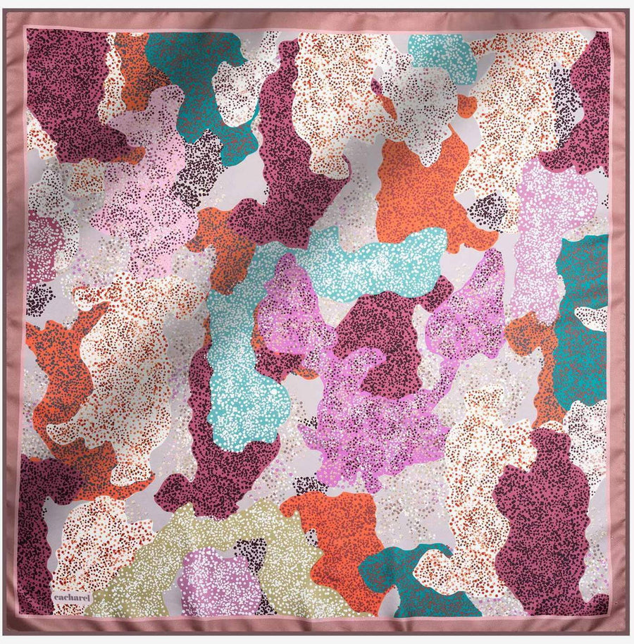 Cacharel Noa Pure Silk Scarf No. 91 Silk Scarves Cacharel