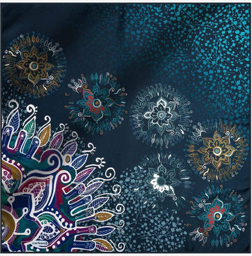 Cacharel Misty Pure Silk Scarf No. 22 Silk Scarves Cacharel
