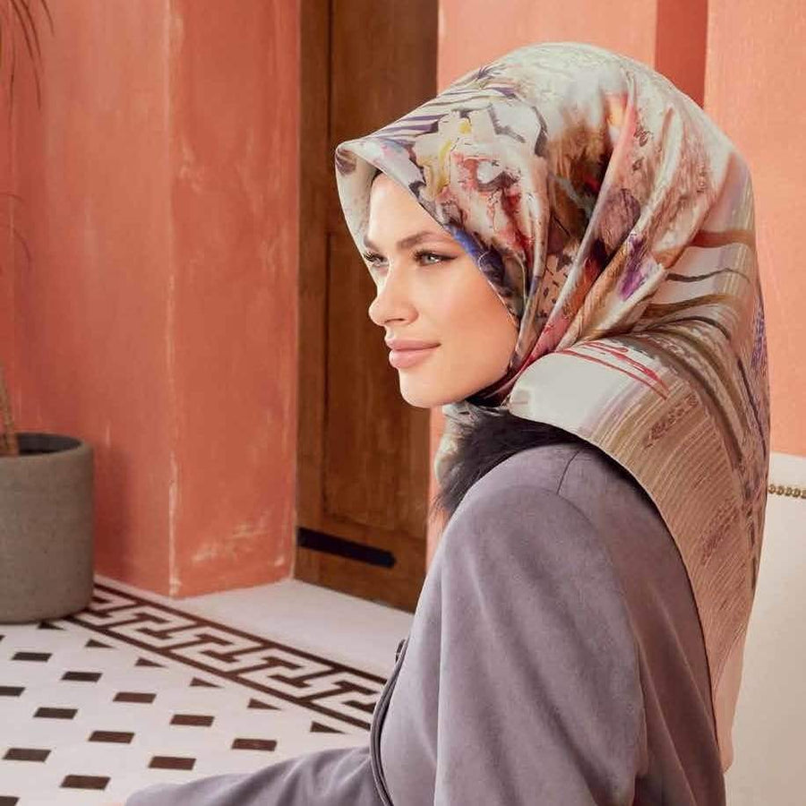 Armine :  A Moment in Time Luxury Silk Hijab