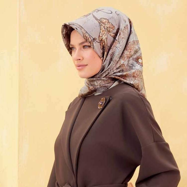 Armine : A Unique Designer Silk Scarf from Turkey Silk Hijabs,Armine Armine
