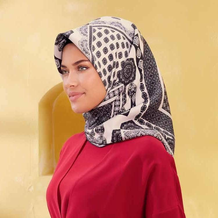 Armine : A Wonderful Pure Silk Scarf from Turkey Silk Hijabs,Armine Armine